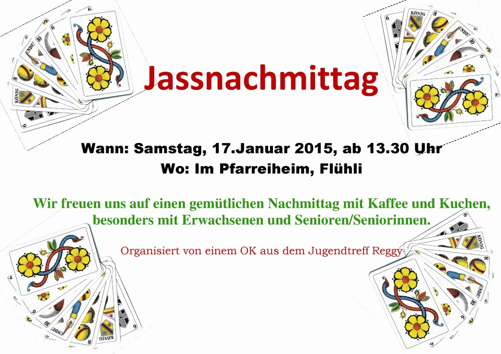 Flyer Jassnachmittag
