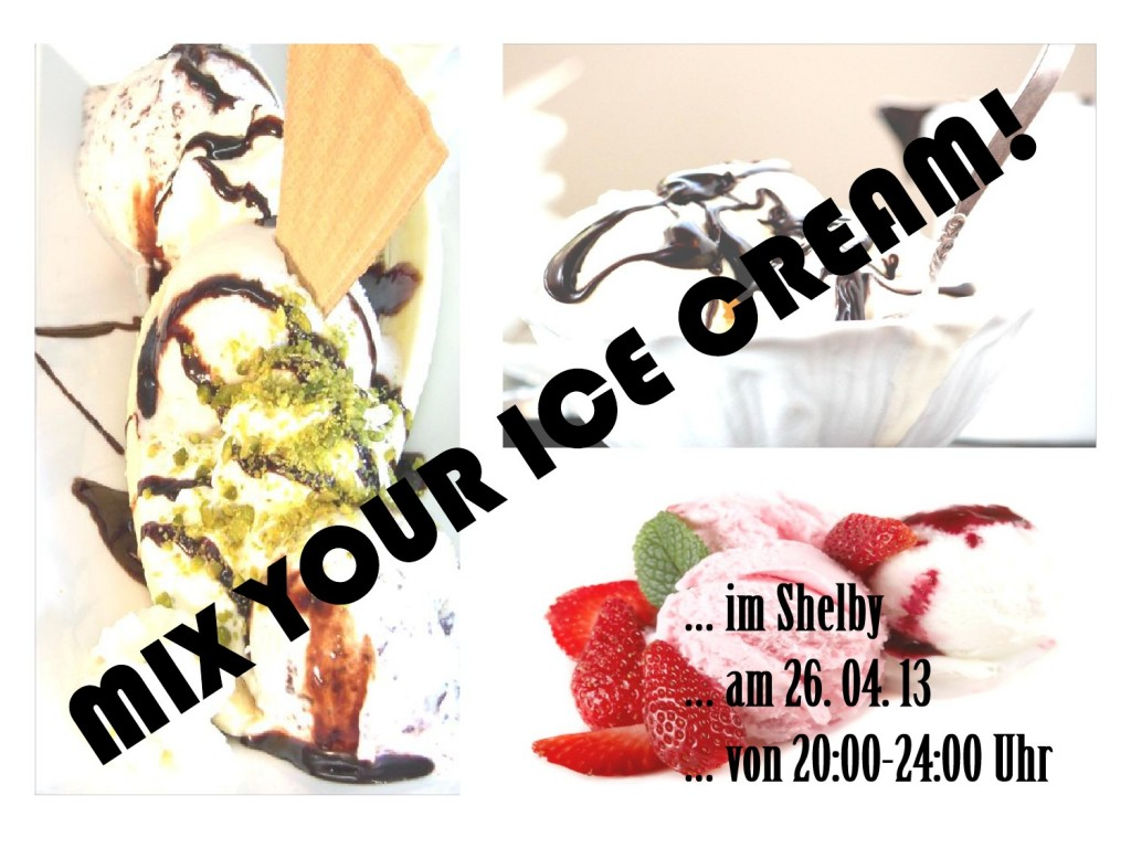 Mix your Ice Cream!