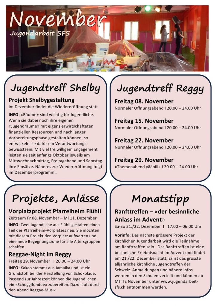 Montatsprogramm November 2013-1