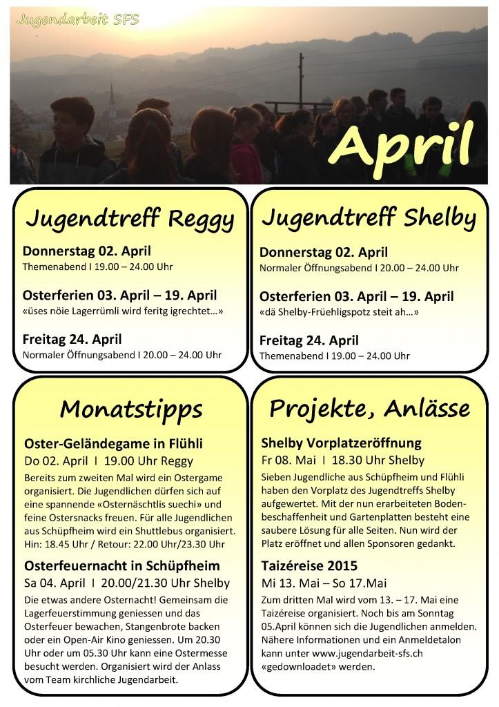 Programm April