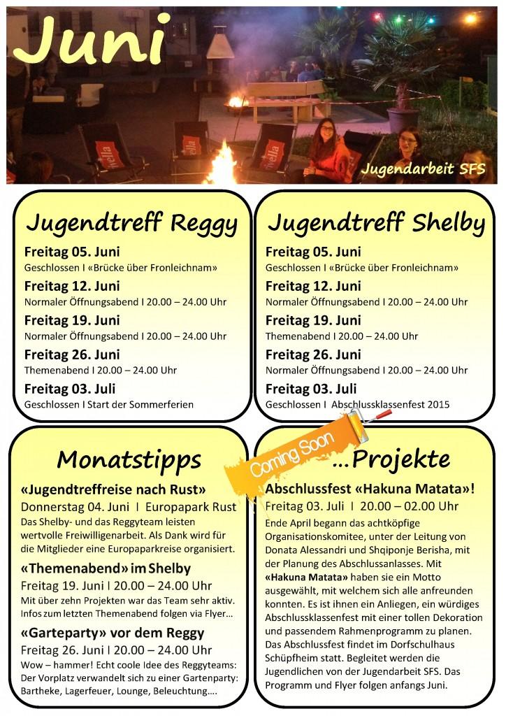 Programm Juni