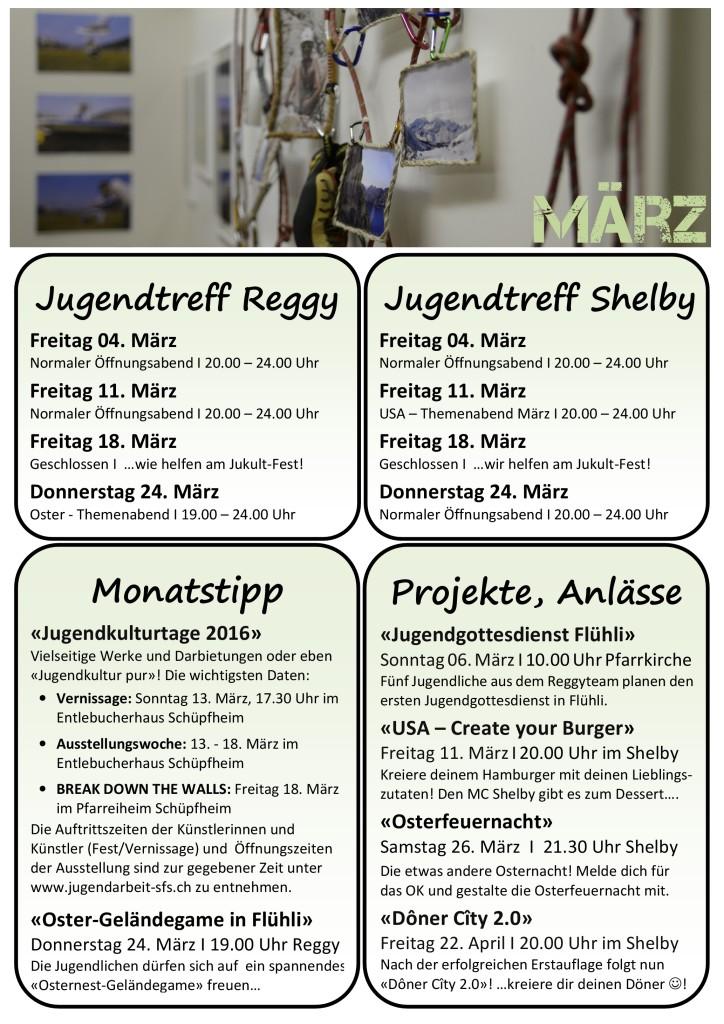 Programm März 2016