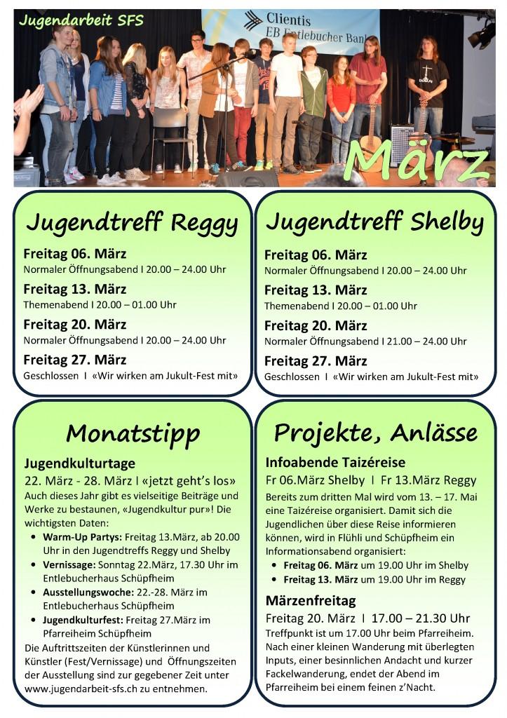Programm März