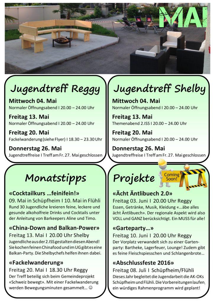 Programm Mai 2016